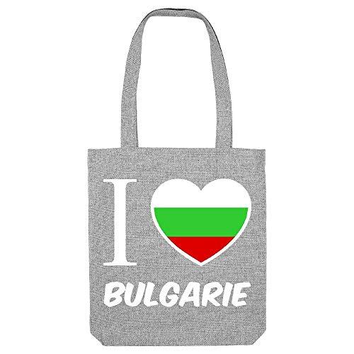 kase la bulgarie Gs Gris fond Coton Jaime My Tote noir 4xwRPHHq