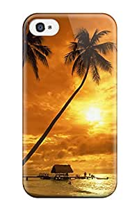 Hot High Quality Pigeon Point Sunset Tpu Case For Iphone 4/4s
