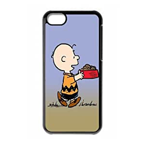 iPhone 5c Cell Phone Case Black Snoopy 10 Mzqgc