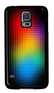 Cute Painting cubed colors Cover for Samsung S5 and Samsung Galaxy S5