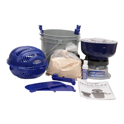 Frankford Arsenal Quick-N-EZ 110V Case Tumbler Kit for Cleaning and Polishing for Reloading