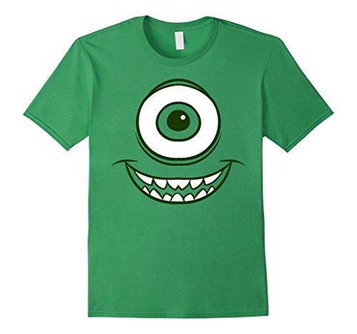 Mens Disney Monsters Inc. Mike Wazowski Eye Graphic T-Shirt Medium (Monsters Inc Mike)