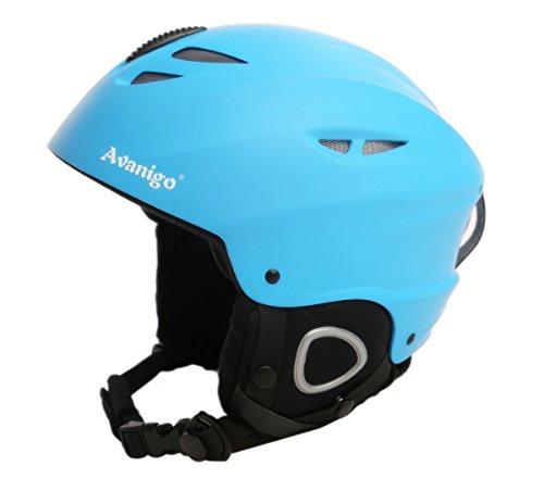 Avanigo Ski Helmet with Safety Certificate, Snow Sport Helmets Skiing Snowboarding Gear for Men Women Youth, Adjustable Fit, Fleece Liner