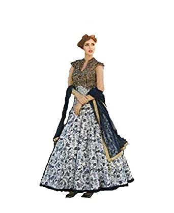 a026374495 Mivaan Creation designer cotton banglori silk gown for womens: Amazon.in:  Clothing & Accessories