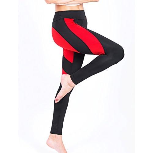 SEASUM Women Yoga Pants Heart Shape Patchwork Leggings High Waist Capris Workout Sport Fitness Gym Tights