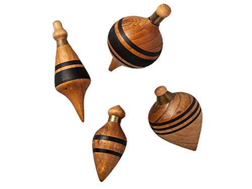 Wooden Plumbob Figural Set of - Painted Figural Hand