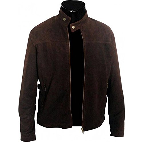 Tom Cruise Mission Impossible 3 Suede Leather Jacket (M)