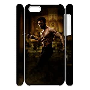 HXYHTY Customized 3D case Wolverine for iPhone 5C
