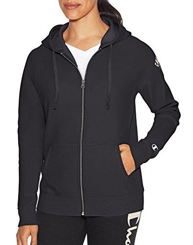 - Champion Heritage Fleece Front Zip Hoodie Gray Scarf X-Large