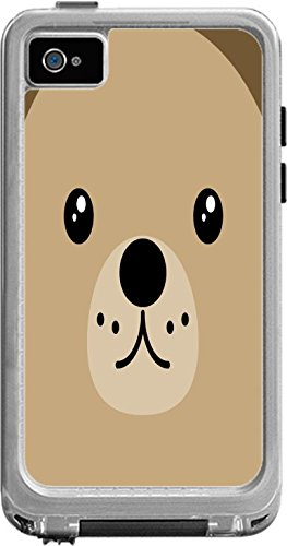 Teddy Bear Face Cute Lifeproof Fre iPod Touch 4th Gen Vinyl Decal Sticker Skin