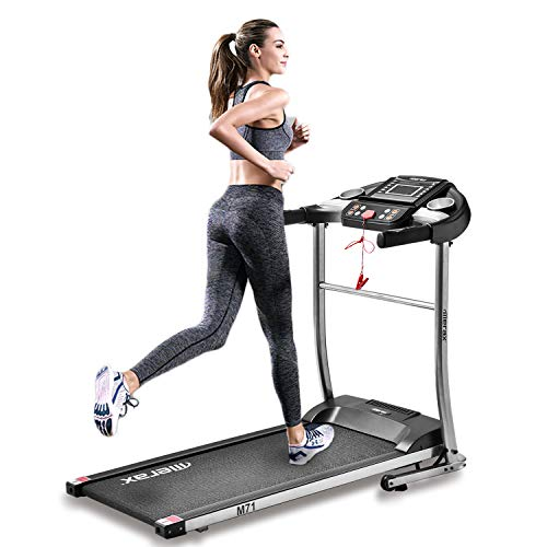 Merax Treadmill Easy Assembly Folding Electric Treadmill Motorized Running Machine