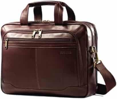 Samsonite Unisex-Adult Colombian Leather Toploader, Brown
