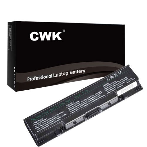 CWK New Replacement Laptop Notebook Battery for Dell Inspiron 1520 1521 0UW280 451-10476 451-10476 312-0595 312-0590 312-0576 312-0589 312-0504 Dell Inspiron 1520 530s 1521 1720 1500 1700 312-059