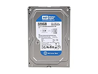 WD Blue 320 GB Desktop Hard Drive: 3.5 Inch, 7200 RPM, PATA, 8 MB Cache - WD3200AAJB (B000RO3BPA)   Amazon price tracker / tracking, Amazon price history charts, Amazon price watches, Amazon price drop alerts