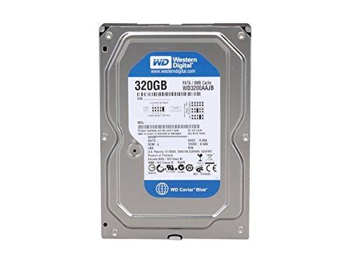 - WD Blue 320 GB Desktop Hard Drive: 3.5 Inch, 7200 RPM, PATA, 8 MB Cache - WD3200AAJB