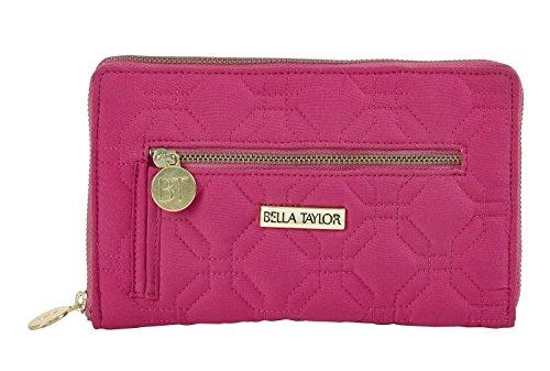 Bella Taylor Signature Zip Wallets