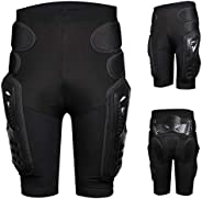 Protective Armour Pants for Motorcycle Bicycle Ski, Heavy Duty Armor Pads Guard Protection for Hips Legs