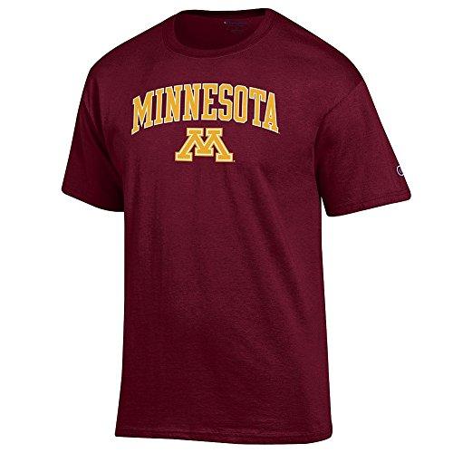Elite Fan Shop Minnesota Golden Gophers Tshirt Varsity Maroon - L