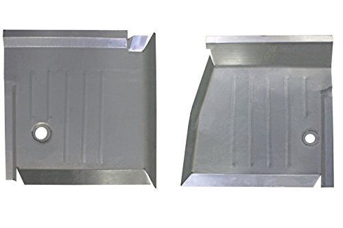 Motor City Sheet Metal Works With 1999-2007 Chevy Silverado Front Floor Pan Pair