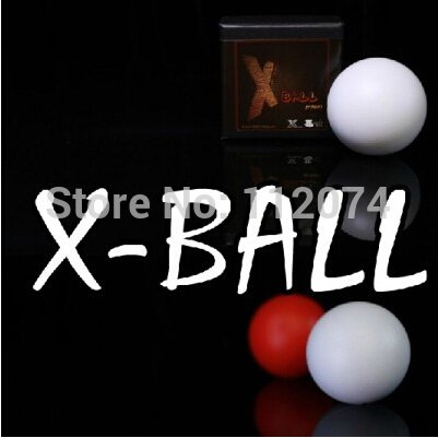 Doowops X-Ball (bianca Red Colore Available),Shell of One to Four Ball Magic Tricks Stage Magician Accessories Gimmick,Props,Illusion