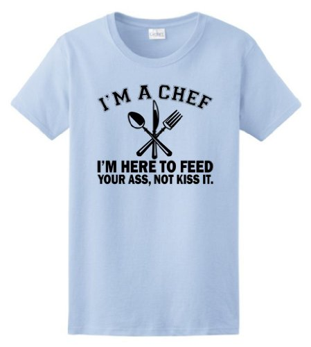 Chef Here Feed Ladies T Shirt