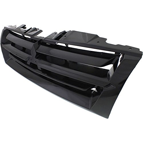 Diften 104-C1114-X01 - New Grille Assembly Grill Black Mitsubishi Montero 2001 ()
