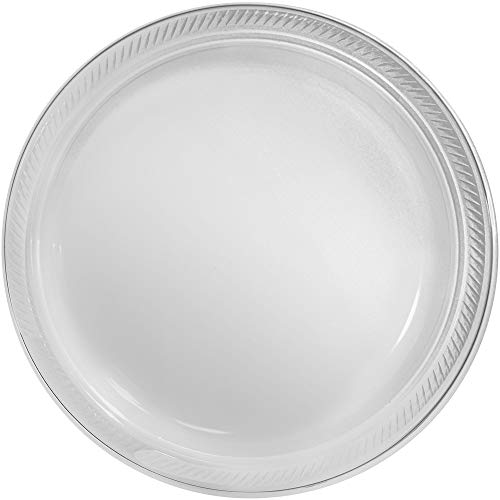 Big Party Pack Clear Plastic Plates | 10.25"