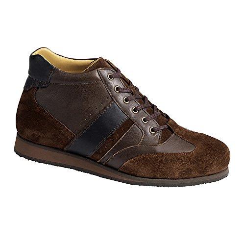 Piedro  Piedro Mens Sports Shoes 3580,  Herren Durchgängies Plateau Sandalen mit Keilabsatz Braun