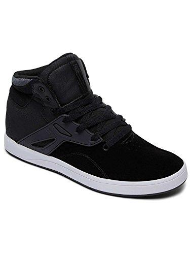 Fréquence Dc Shoe Black-white (eu 46 / Us 12, Noir)