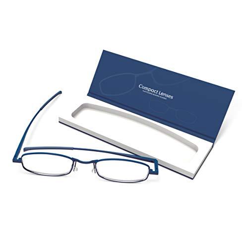- Compact Lenses Flat Folding-Reading Glasses-Twilight +3.0