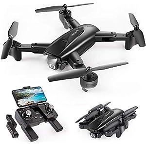 SNAPTAIN SP500 Drone avec Caméra GPS 1080P Pliable ,30 Mins Autonomie,2 Batteires,Suivez-Moi,Auto Rentrer à la Maison…