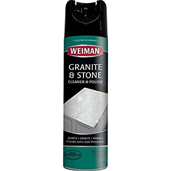 Amazon Com Weiman Granite Cleaner And Polish 17 Ounce