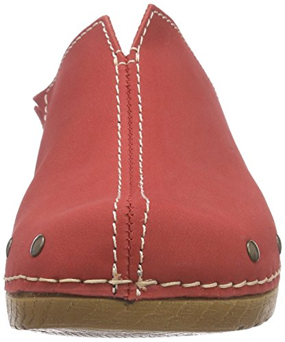 Jana 27302 Damen Clogs Rot (RED 500)