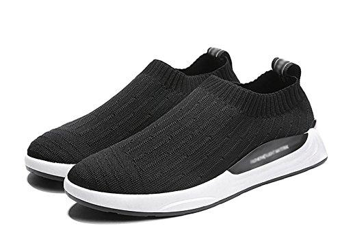 marea uomo tessuto traspirante nero 43 scarpe casual 39 primavera volante estate Xie da sport qFvUXA