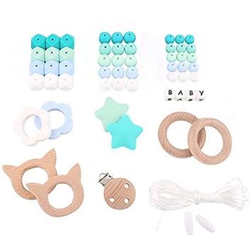 Amazon.com: HAO JIE - Kit de dentición de madera para mamá: Baby