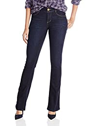 "Women's ""Ab""Solution Itty Bitty Boot Jeans"