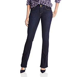 Best Epic Trends 41YdQfO4r2L._SS300_ Democracy Women's Ab Solution Itty Bitty Boot Jean