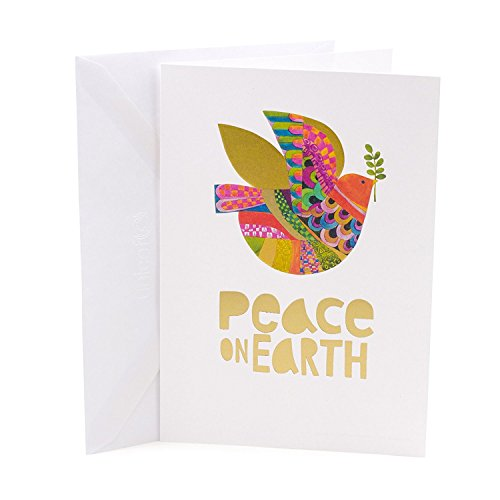 Hallmark UNICEF Christmas Boxed Cards (Peace On Earth Dove Lettering, 12 Christmas Greeting Cards and 13 Envelopes) Photo #6