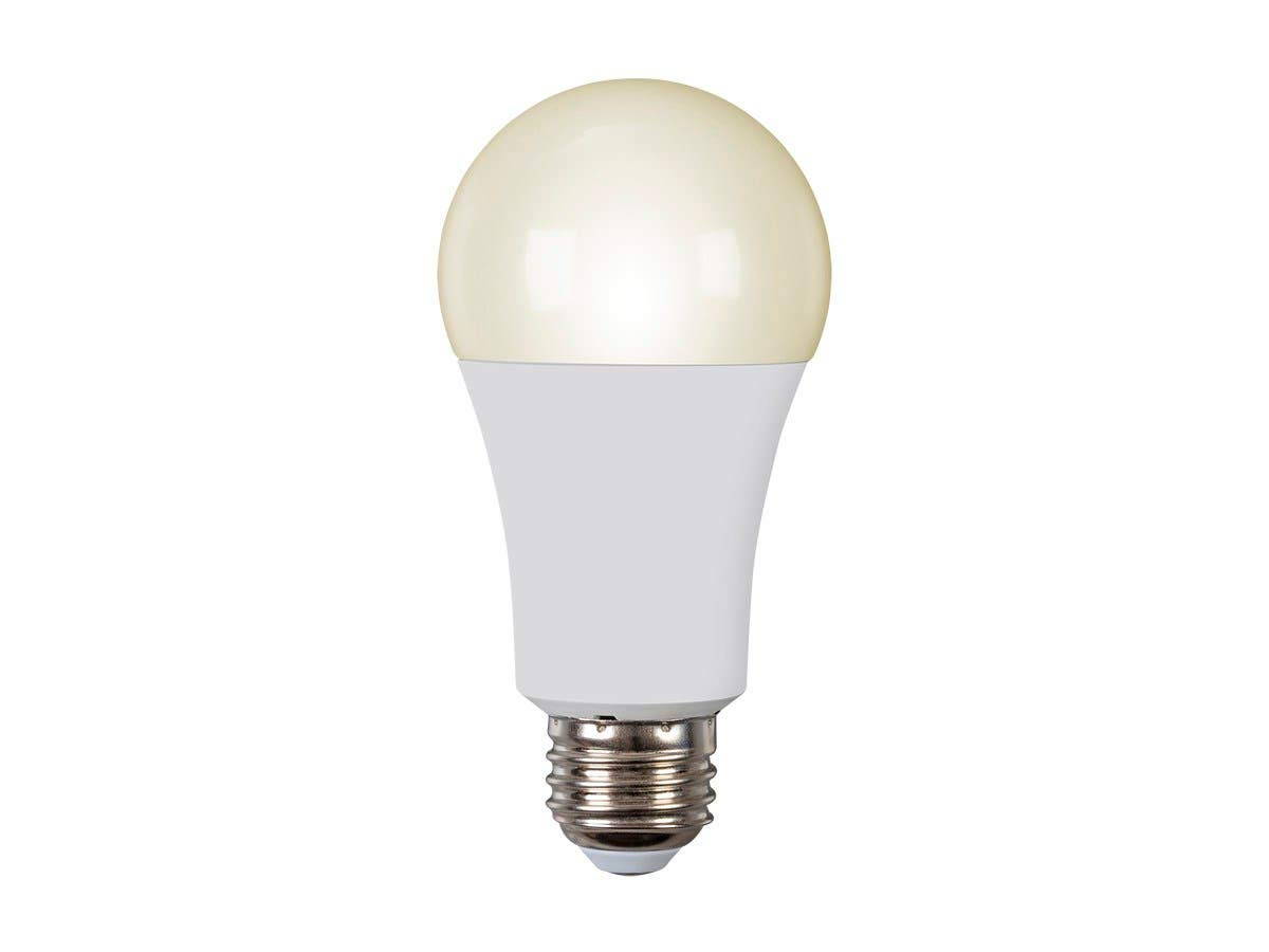Monoprice Smart LED Light Bulb Wi-Fi Dimmable White 50W Equivalent Compatible with Alexa & Google Assistant No Hub Required