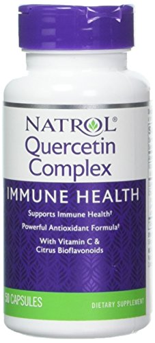 Natrol Quercetin – 500 mg – 50 Capsules