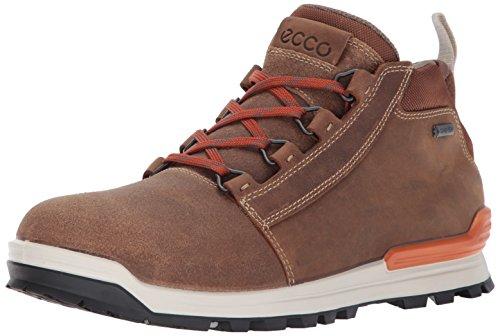 ECCO Men's Oregon Retro Midcut Gore-TEX Hiking Boot, Cashmere/Cashmere, 46 EU/12-12.5 US