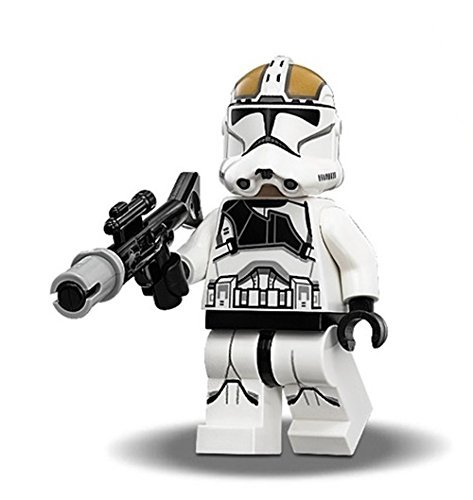 LEGO Clone Trooper Gunner Minifigure with Blaster (Phase 2 armor)
