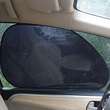Amazon.com  DAVITU US Warehouse Window Foils - 2Pcs Car Rear Window Side Sun  Shade Cover Block Static Cling Visor Shield Screen  Automotive 826eaea4f9c