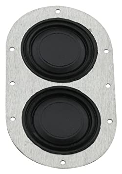 5 1//4 Dia. 2 Hole Fragola 999408 Grommet Seal