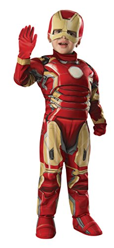 Rubie's Toddler Iron Man Muscle Chest Costume Gloves (Toddler)