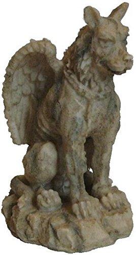 Gotische Wasserspeier-Figur, Harz, 14,5 cm AVENUELAFAYETTE