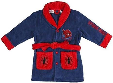 CERD/Á LIFES LITTLE MOMENTS Batas para Casa De Spiderman-Licencia Oficial Marvel House Robes-Licenza Ufficiale Bambino