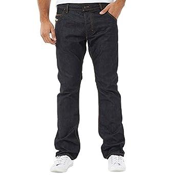 """84992685 Mens Diesel Krooley 0088Z Jeans Dark Wash Guys Gents (33x30 Waist 33""""  ..."""