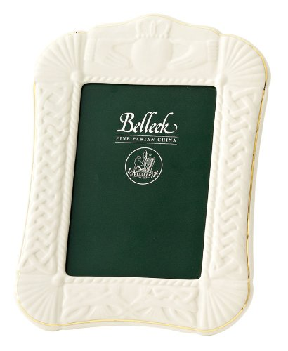 (Belleek Claddagh Picture Frame, 5x7)
