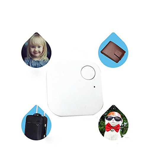 Smart Bluetooth Tracer Pet Child Wallet Key GPS Locator Tag Alarm(White) - 4